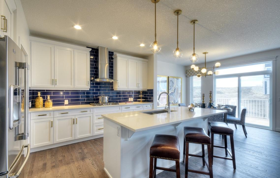 Kitchen in the Kingsley by NuVista Homes